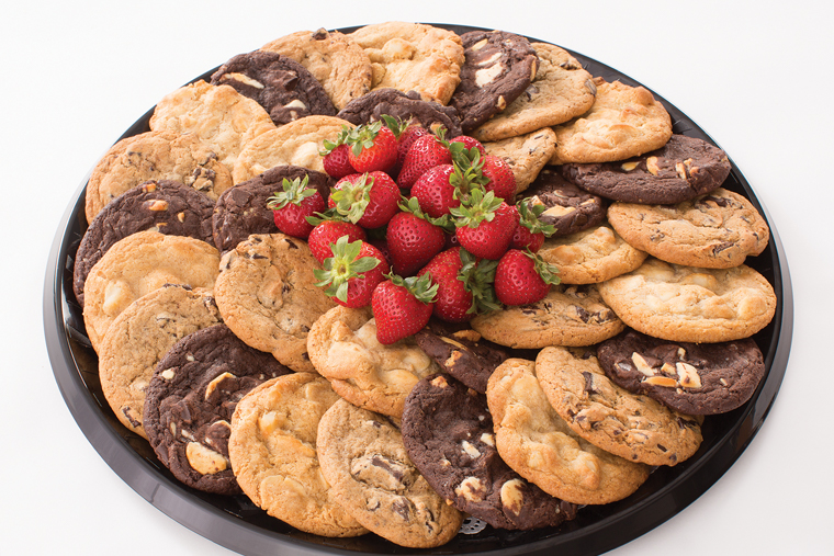 Cookies and Fruit Platter