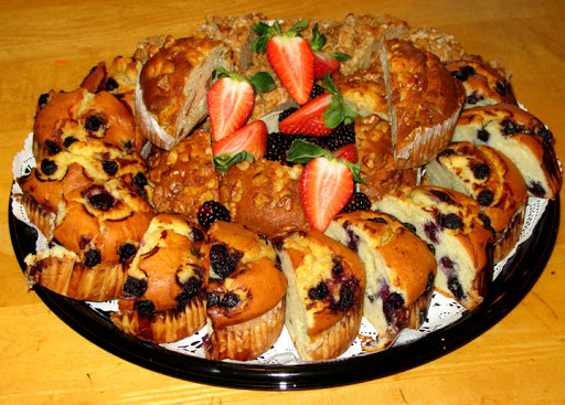 Berry Muffin Platters
